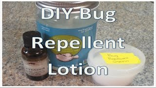 diy bug repellent lotion child friendly
