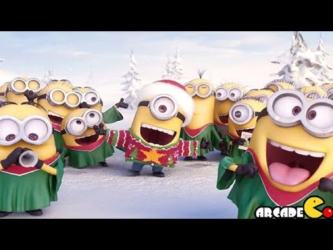 Despicable Me 2: Santa Minion in Grubs Lab - Funny Minion Games - YouTube