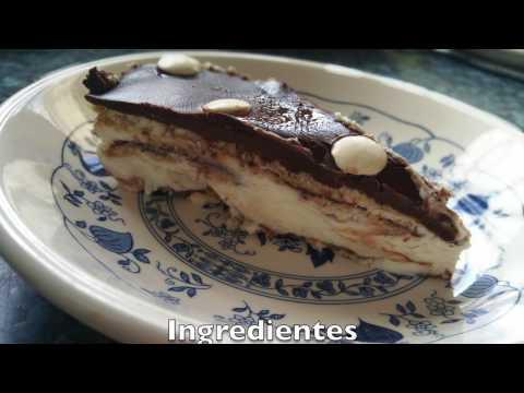 Tarta de queso y chocolate | Comer con poco