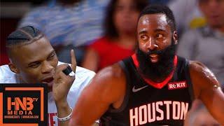 Houston Rockets Vs Shanghai Sharks   Full Game Highlights  September 30 2019 NBA Preseason