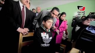 وزير الاتصالات يزور«المدرسة الفكرية» بمحافظة بورسعيد