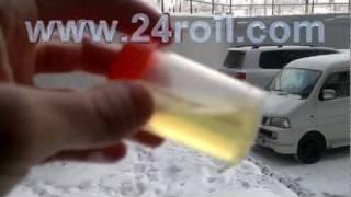 -35С размораживание Дизтоплива добавкой Roil Platinum(а) Что делать чтоб солярка не замерзала. б) Как разморозить дизтопливо в баке. Мой наглядный эксперимент...., 2012-01-30T17:25:35.000Z)