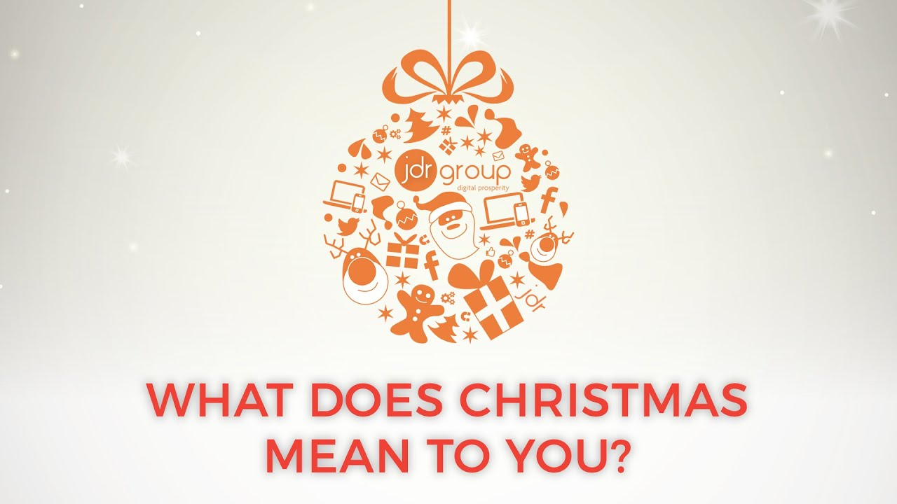 What does it mean christmas-8614