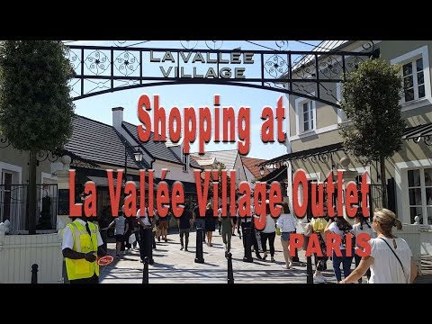 LA VALLEE VILLAGE, SERRIS - VAL D'EUROPE, PARIS FRANCE