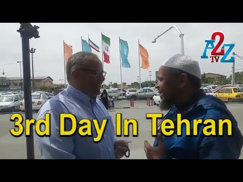 Bangalore - Hajj By Bicycle 3rd Day In Tehran ll A2Z TV