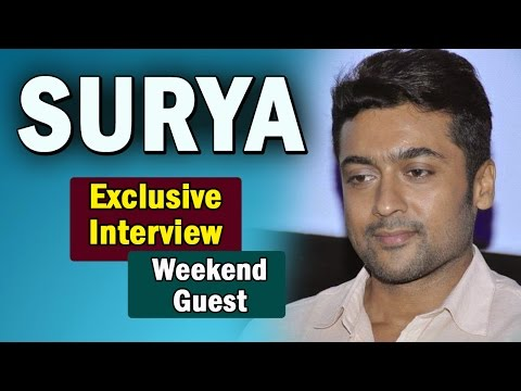 Exclusive Interview with Suriya || S3 (Singam 3) || Weekend Guest || NTV