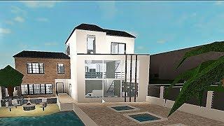 Construire une maison tropicale! #Roblox - Bloxburg (183k)