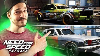 NEED FOR SPEED PAYBACK - MEU PRIMEIRO CARRO ABANDONADO! XBOX ONE [PT/BR]