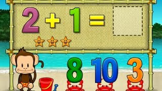 Monkey Math School Sunshine | Fun Math App For Kids