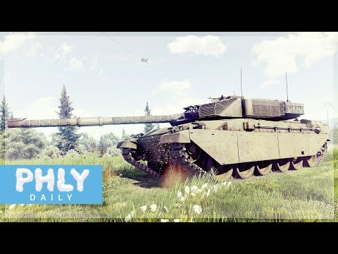BUGGIEST TURRET EVER | Challenger HULL DOWN Let Down (War Thunder Tanks)