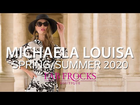 Michaela Louisa Spring Summer 2020 At Fab Frocks Boutique