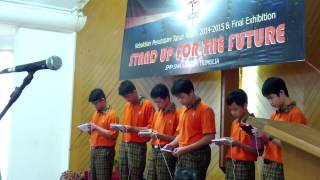 Manuk dadali  cover by Angklung android SMPK Trimulia