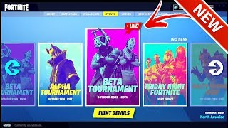 *NEW* IN-GAME TOURNAMENTS COMING TUESDAY! FORTNITE BATTLE ROYALE