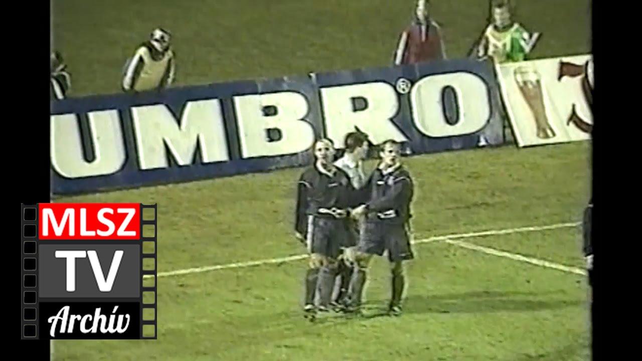 Újpest-Diósgyőr | 5-0 | 2000. 03. 11 | MLSZ TV Archív