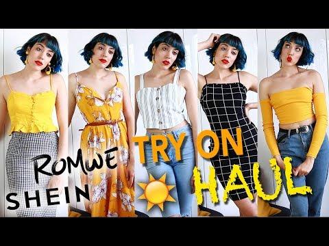 SUMMER HAUL Con SHEIN E ROMWE | MyVisionBeauty