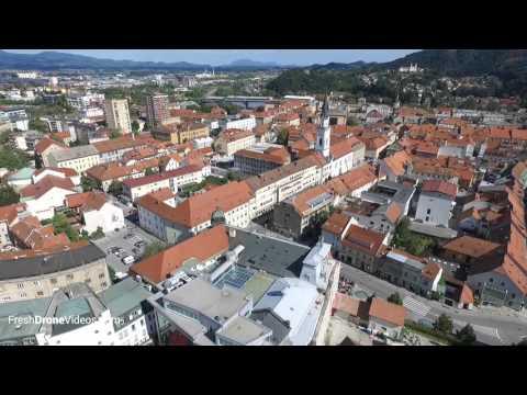 Presenting Celje in Under 1 Minute - Aerial 4K HD