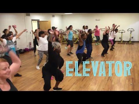 Elevator  Flo Rida feat Timbaland  IRobics Dance Fitness
