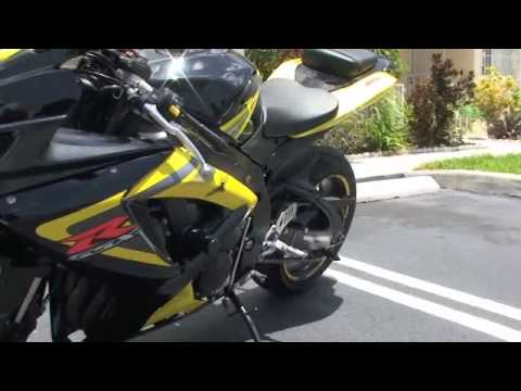 suzuki gixxer k6 750 with akrapovic slip on youtube. Black Bedroom Furniture Sets. Home Design Ideas