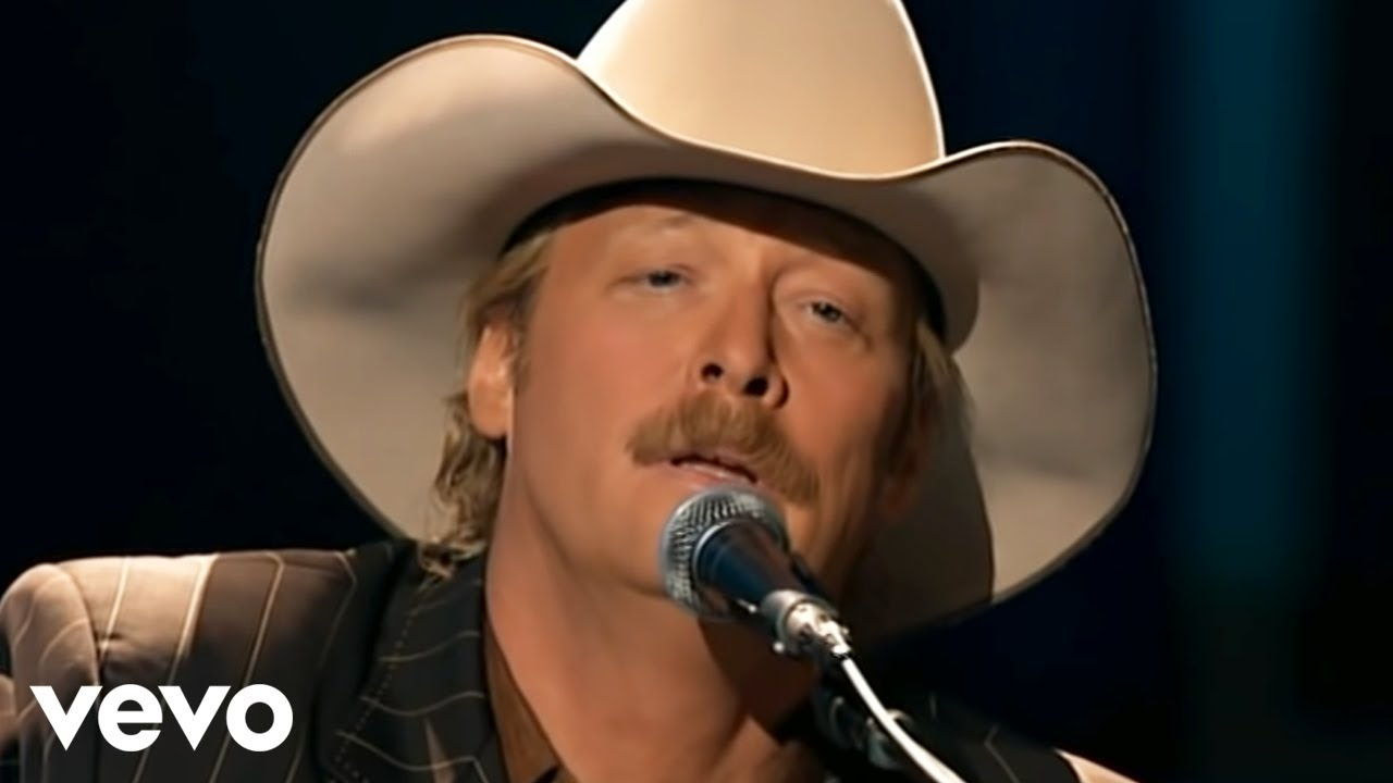Lovely Alan Jackson   The Old Rugged Cross (Live)