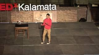 "Embrace your fears | Daniel ""Cloud"" Campos | TEDxKalamata"