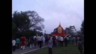 Rath Yatra 2014 in Balco Nagar Korba Chhattisgarh part1