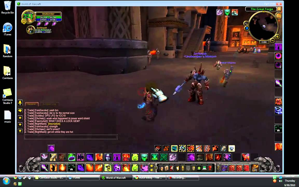 Increase DPS in WoW with AutoHot Key - YouTube