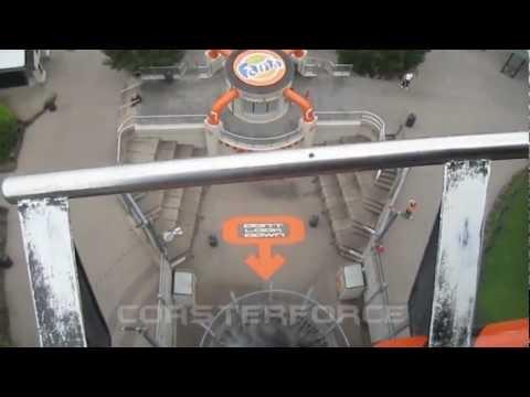 Oblivion Front Row Seat on-ride HD POV Alton Towers