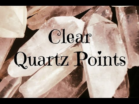 💎Ways to Use a Clear Quartz Point💎