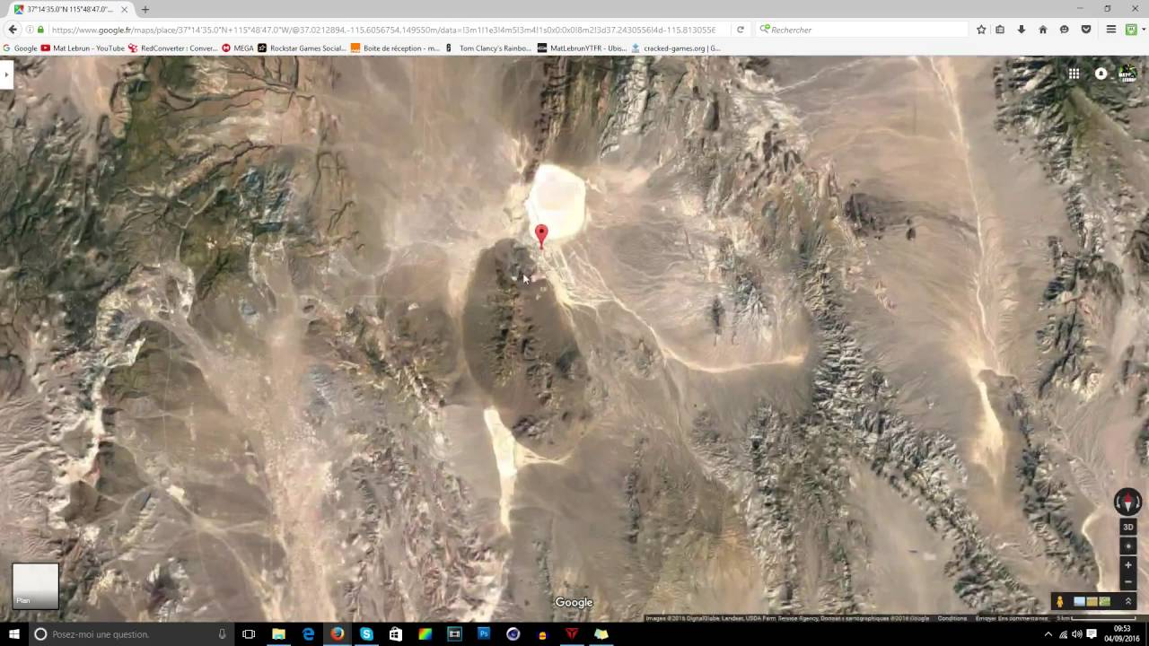 Easter Egg de la Zone 51 par Google Maps ! - [CLIN D'OEIL ...