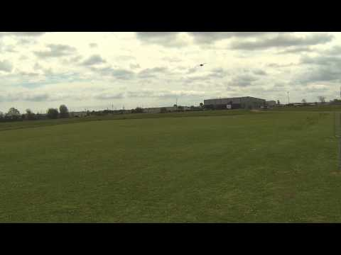 Allen Womack KDS Helicopter, Haiyin Batteries, SAVOX Servos and Motor (Windy Day)