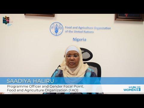 Making Parity a Reality in the UN | SaAdiya Haliru of FAO