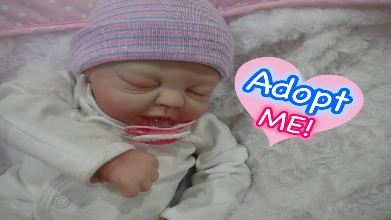 Reborn Baby Doll For Adoption Cute Baby Girl From