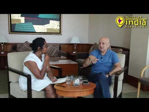 Kucch Bhi Ho Sakta Hai - Interview With Anupam Kher In Singapore