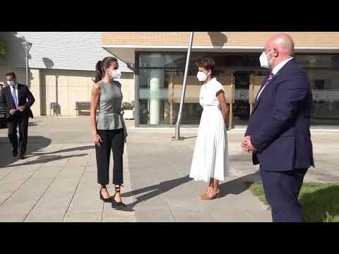 Vídeo de la visita de la Reina a Navarra para inaugurar el curso escolar en Milagro y San Adrian