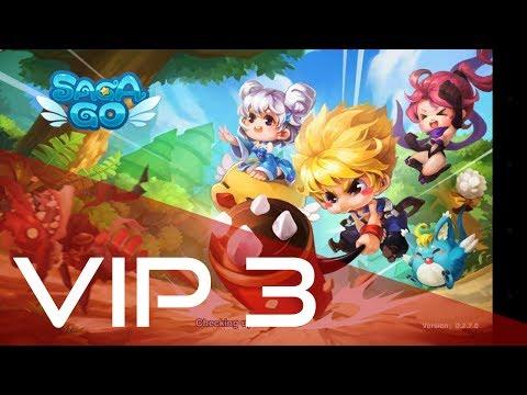 Saga Go  Game que da Vip 3 Gratis!