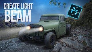 Araba Işık | Photoshop cc 2019 | Arunz Oluşturma Oluşturma