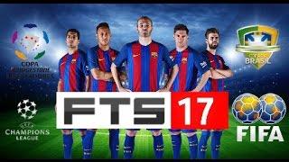 Baixar FTS 17 para Android (270MB) com Libertadores + Brasileirão com Gramado HD + Face reais