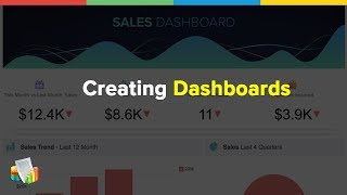Zoho Reports: How to create Dashboards