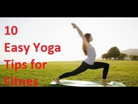 Yoga10 Simple steps to get slim