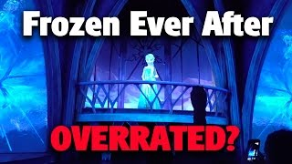 frozen ever after ride review   epcot
