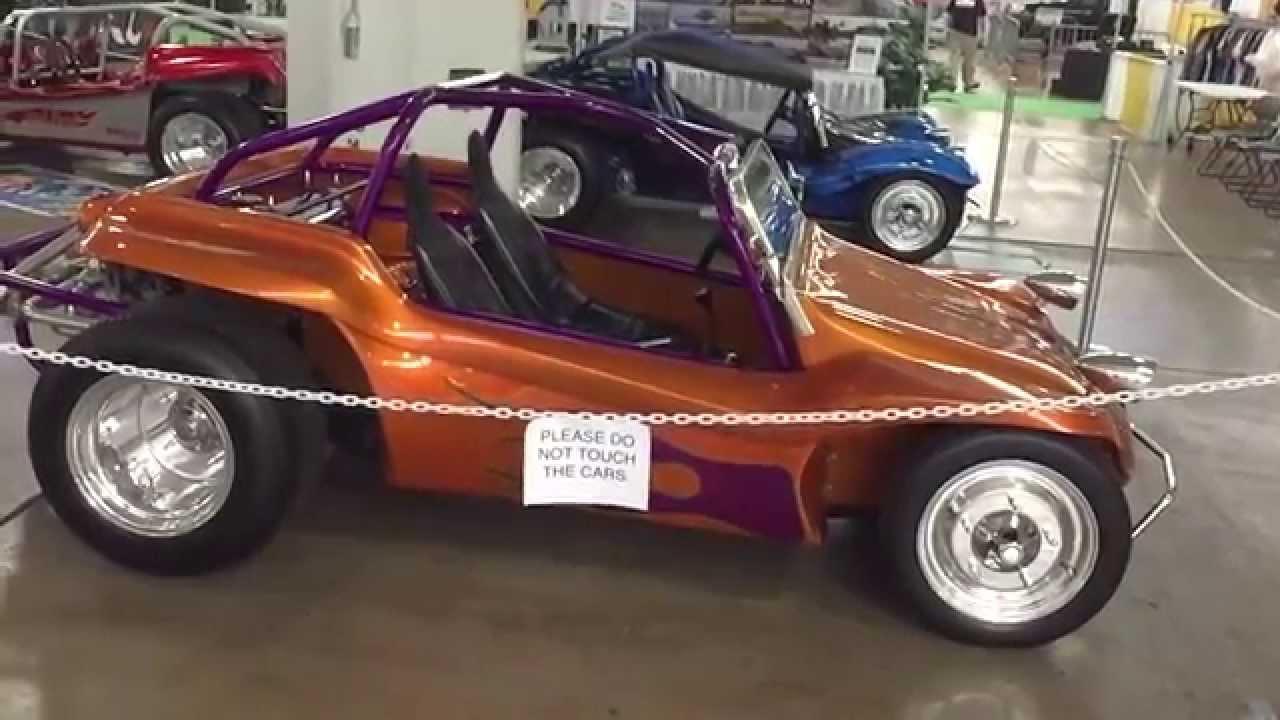 Dune Buggy Car Show Slow Motion Hawaii