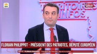 Invité : Florian Philippot - Territoires d'infos (16/02/2018)