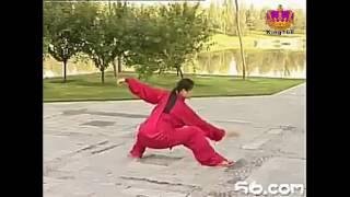 吳阿敏~楊式40式太極拳教學全套示範(背向)