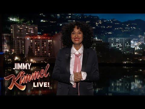 Tracee Ellis Ross' Guest Host Monologue on Jimmy Kimmel Live