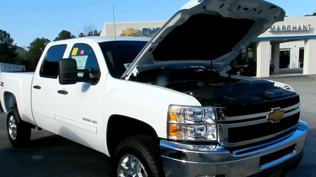 2012 chevy silverado 2500 6 0 l for sale marchant chevrolet charleston sc youtube. Black Bedroom Furniture Sets. Home Design Ideas
