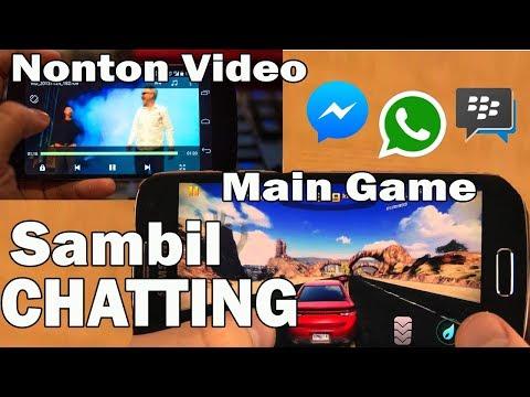 Cara Chatting Sambil Main Game, Nonton Video, & Lainya
