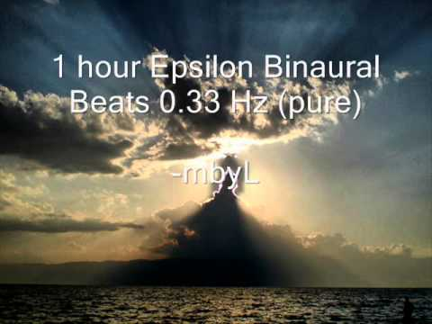 "1 hour Epsilon Binaural Beats 0.33 Hz (pure) - ""Ultra Deep Consciousness Experience"""