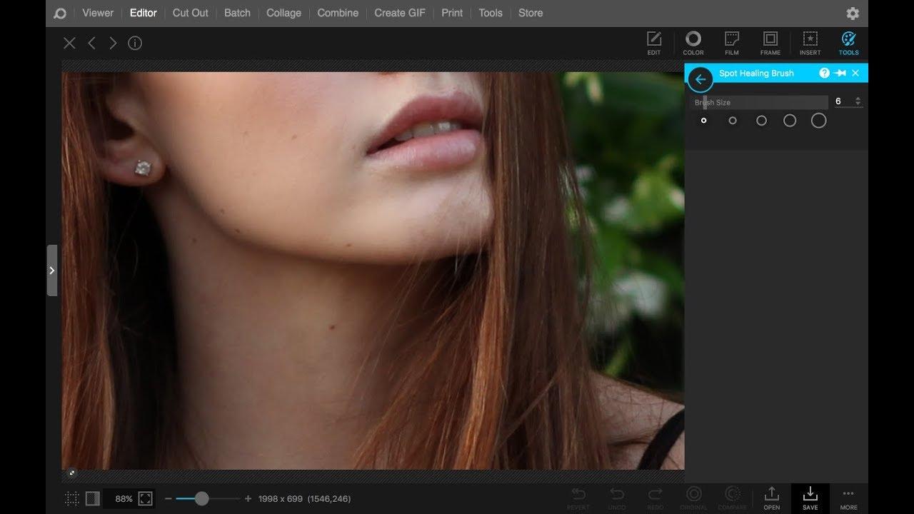 spot remover photo editor
