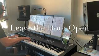 Leave the Door Open,Bruno Mars cover with yamaha mx88 and cubasis 3