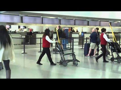Coronavirus Flight Cancellations Hit Airport Workers, Businesses